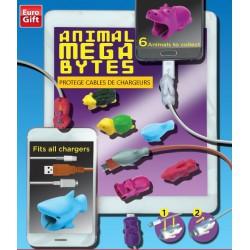 Protège cable de chargeur Animal Mega Bytes en Capsules 55MM